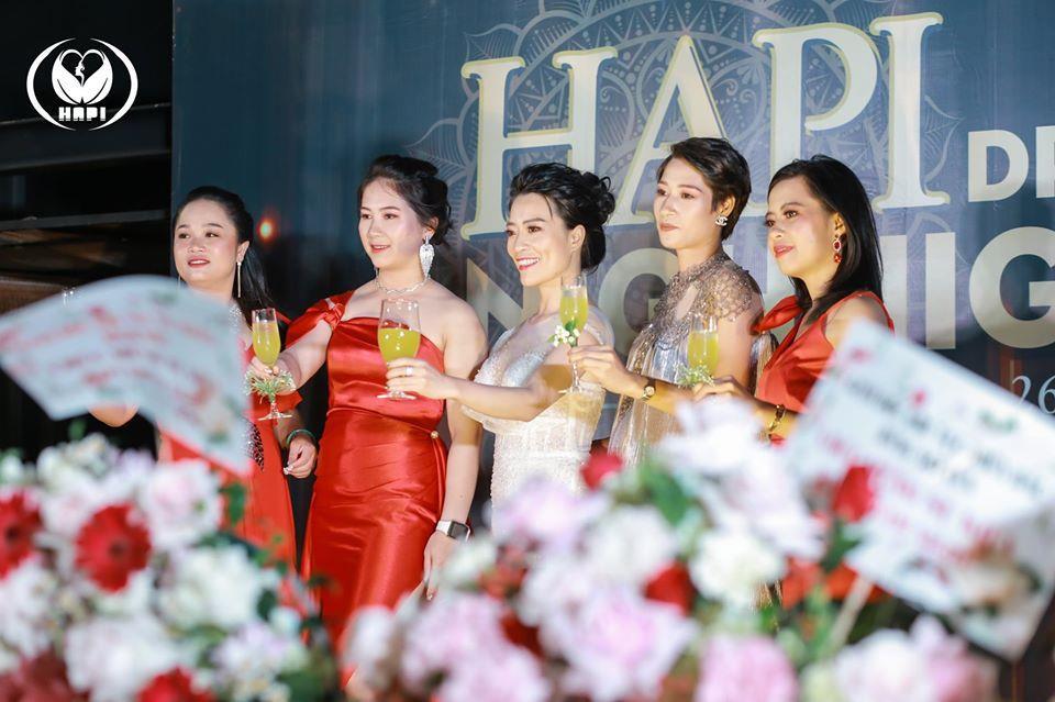 """Đêm tiệc ngàn sao """"Hapi Dream Night"""" tinh tế và sang trọng của công ty mỹ phẩm Hapi Group - Ảnh 9."""