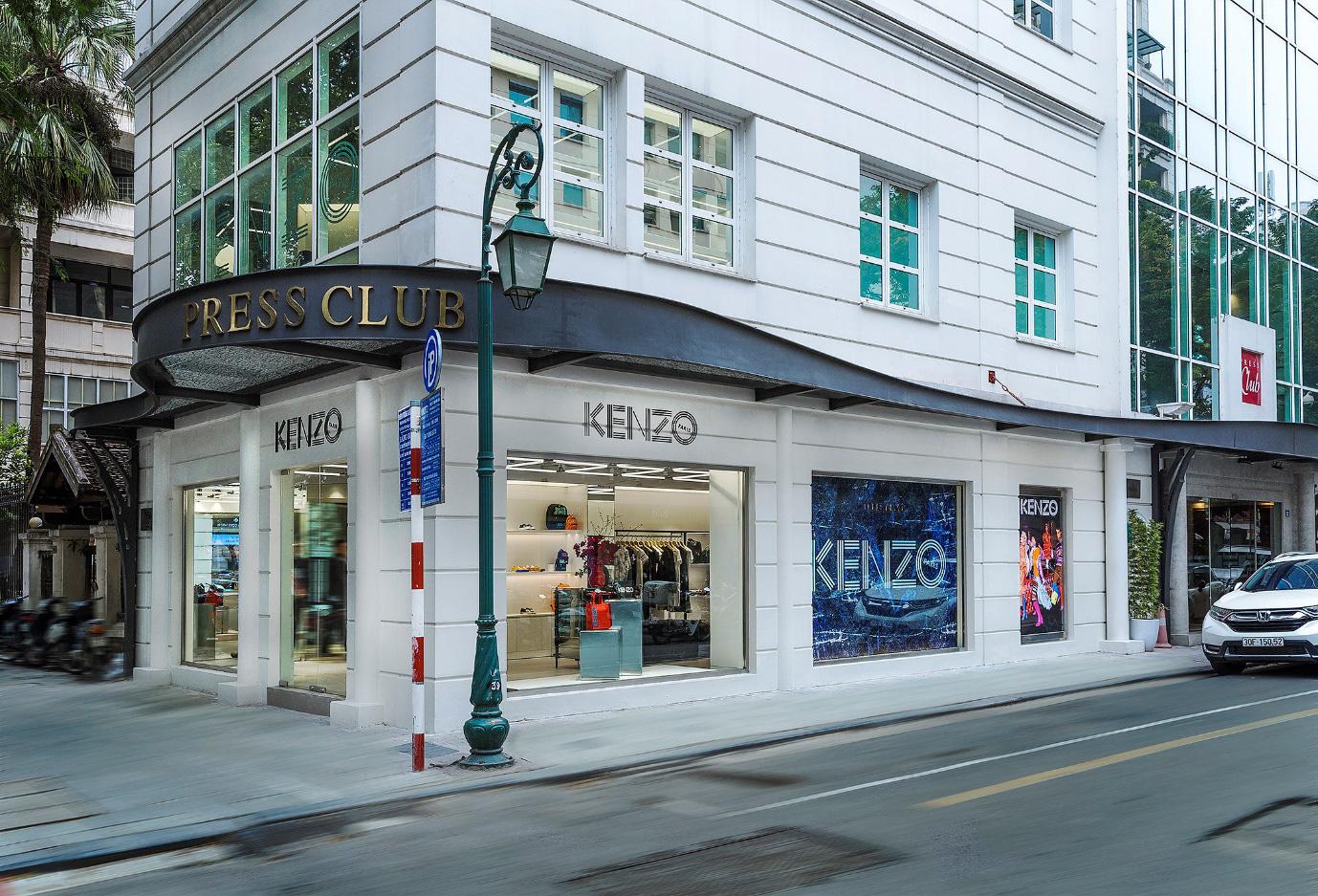 KENZO chào đón cửa hàng mới tại địa điểm đẹp bậc nhất Hà Nội - Ảnh 1.