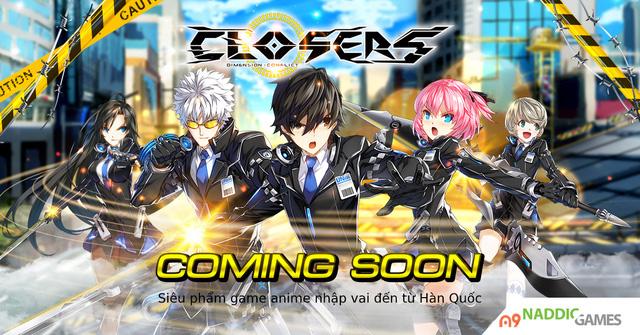 """Closers – Game anime 3D MOARPG rục rịch """"tiến công"""", công bố lộ trình ra mắt tại Việt Nam - Ảnh 1."""