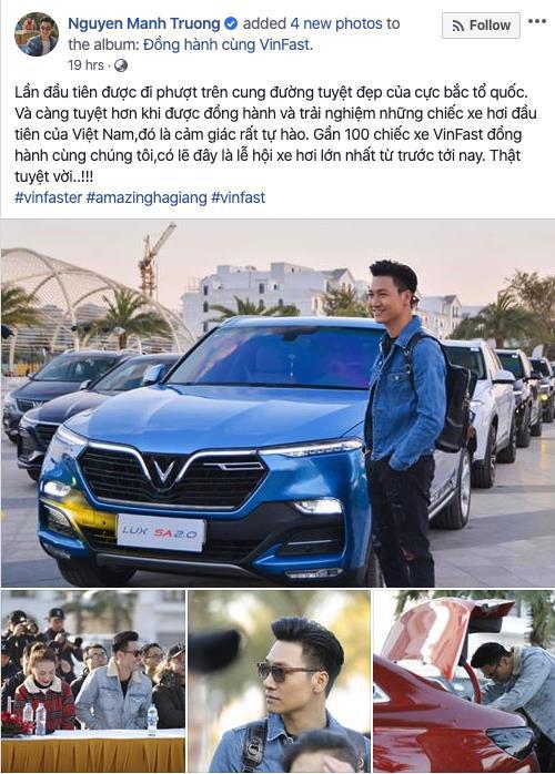 """Dàn sao Việt """"rủ"""" nhau thẳng tiến Hà Giang, ai cũng tự hào vì được lái VinFast - Ảnh 3."""