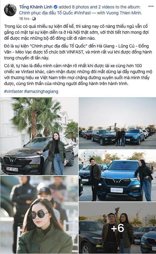"""Dàn sao Việt """"rủ"""" nhau thẳng tiến Hà Giang, ai cũng tự hào vì được lái VinFast - Ảnh 4."""