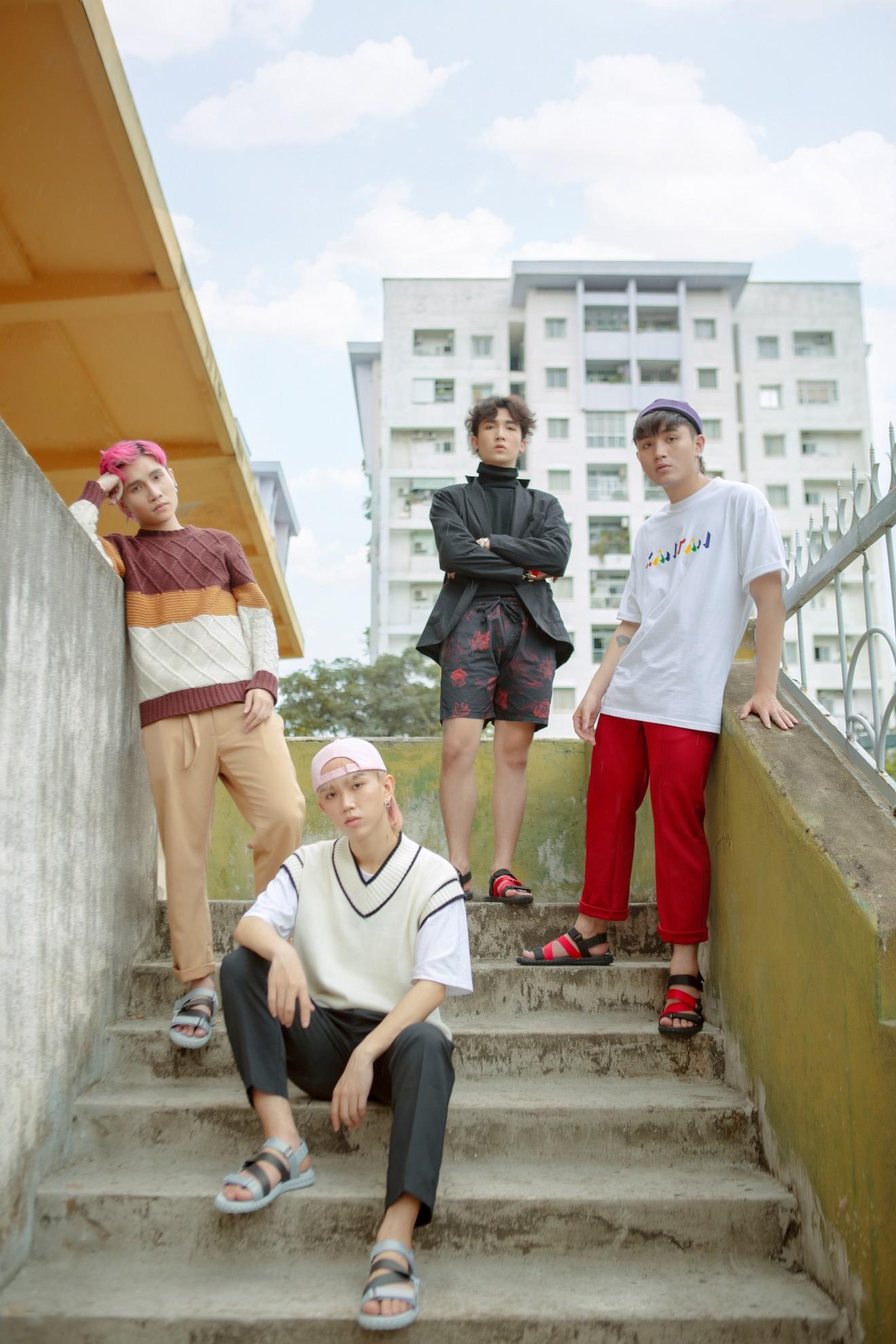 Bật cá tính với gu thời trang street style của nhóm nhạc trẻ Zero 9 - Ảnh 4.