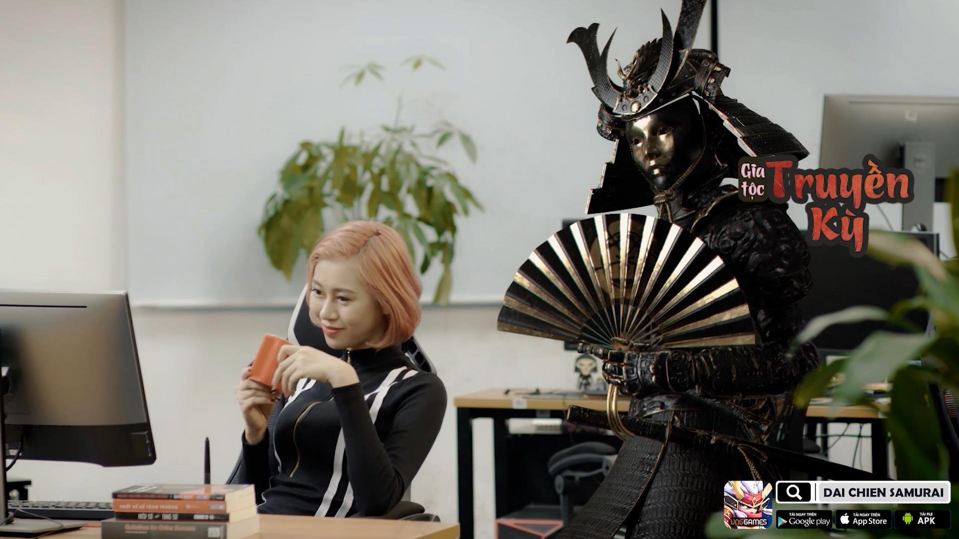 """""""Chị Cano"""" đối mặt """"Chị Google"""" trong Đại Chiến Samurai – VNG"""
