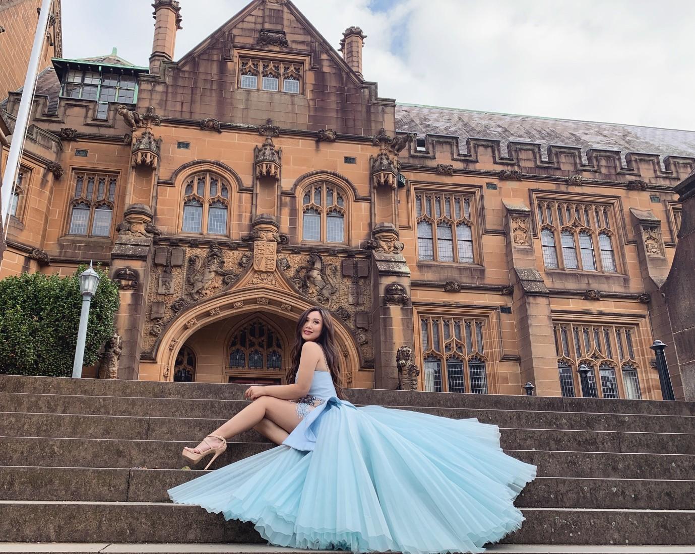 Từ quá khứ bị bắt nạt học đường đến vương miện hoa hậu của nữ sinh Việt trên đất Úc - Ảnh 5.