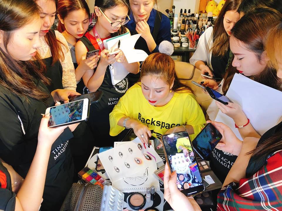 Điều kiện chưa cho phép, chọn ngay gói học make-up trả góp tại Tina Lê Make Up Academy - Ảnh 4.