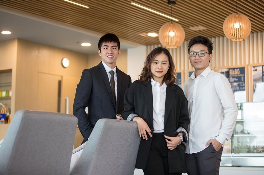 """Thêm một đại diện Việt Nam """"chinh phục"""" bạn bè quốc tế tại cuộc thi kinh doanh - Ảnh 1."""