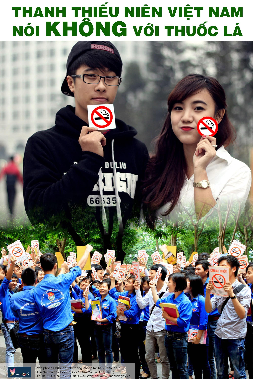 Vận động nói không với thuốc lá: Những sáng tạo bất ngờ - Ảnh 1.