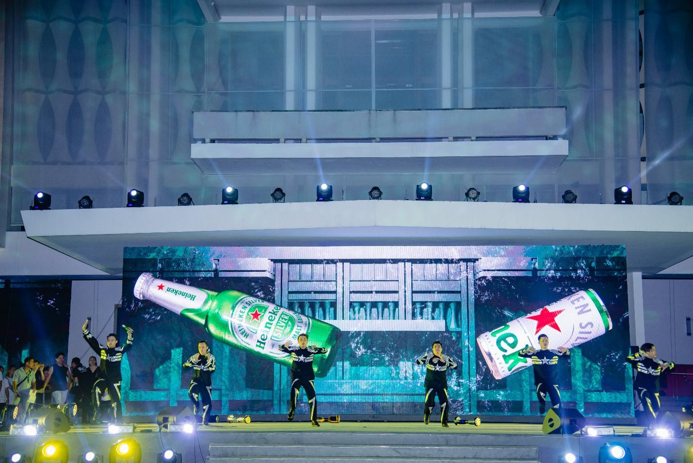 Đen Vâu, Châu Bùi quy tụ trong đại tiệc ra mắt Heineken Silver cực hoành tráng - Ảnh 5.