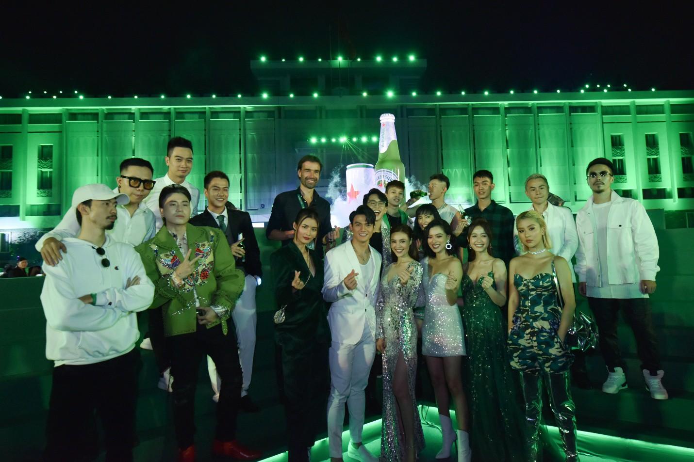 Đen Vâu, Châu Bùi quy tụ trong đại tiệc ra mắt Heineken Silver cực hoành tráng - Ảnh 6.