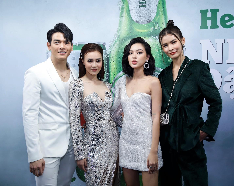 Đen Vâu, Châu Bùi quy tụ trong đại tiệc ra mắt Heineken Silver cực hoành tráng - Ảnh 7.