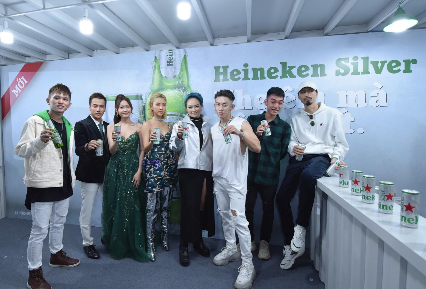 Đen Vâu, Châu Bùi quy tụ trong đại tiệc ra mắt Heineken Silver cực hoành tráng - Ảnh 13.