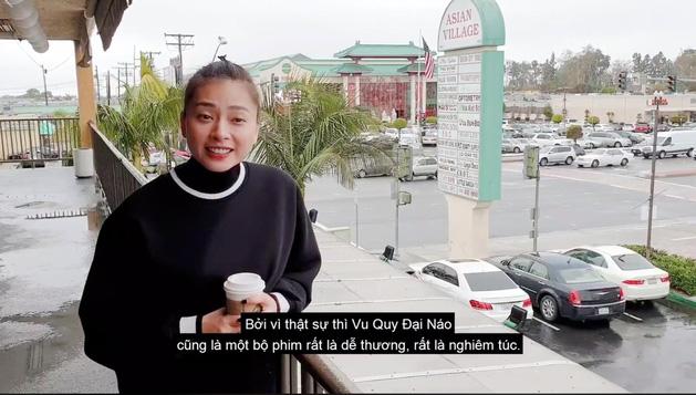 Chơi đẹp như Ngô Thanh Vân, kêu gọi fan đi coi Vu Quy Đại Náo - Ảnh 1.