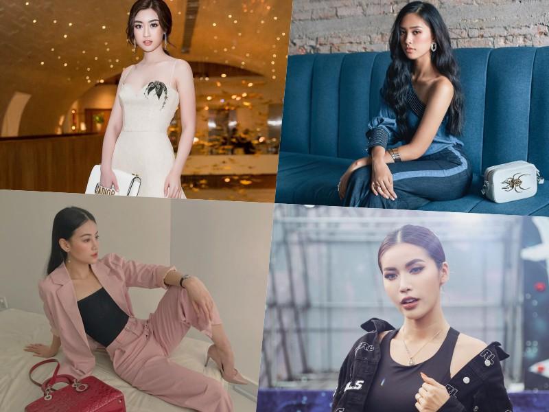 Đo độ chất chơi của 4 hoa hậu: Đỗ Mỹ Linh, Tiểu Vy có thất thế trong cuộc đua hàng hiệu với Minh Tú và Phương Khánh? - Ảnh 1.