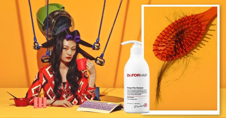 """Giật mình khi tóc giảm gãy rụng hẳn nhờ """"dầu gội chuyên gia"""" Dr.FORHAIR đang gây sốt xứ Hàn - Ảnh 1."""