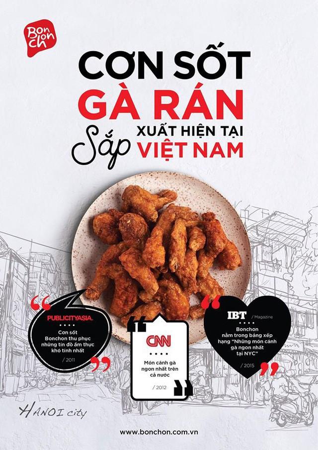 """Gà rán Bonchon khiến cả thế giới """"bồn chồn"""" cuối cùng đã xuất hiện ở Việt Nam! - Ảnh 1."""