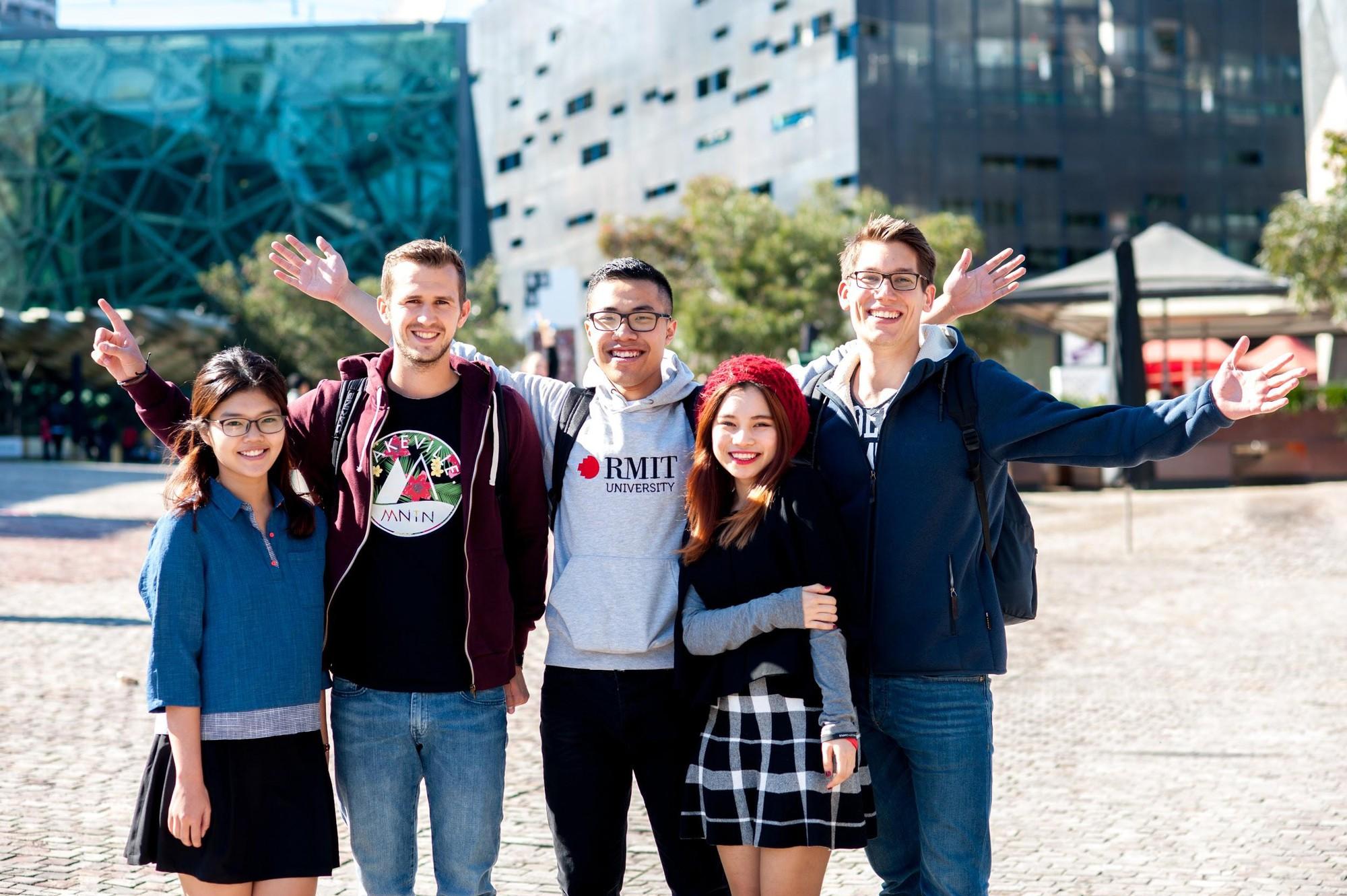 Xách ba lô lên và đi du học RMIT Melbourne - Ảnh 1.