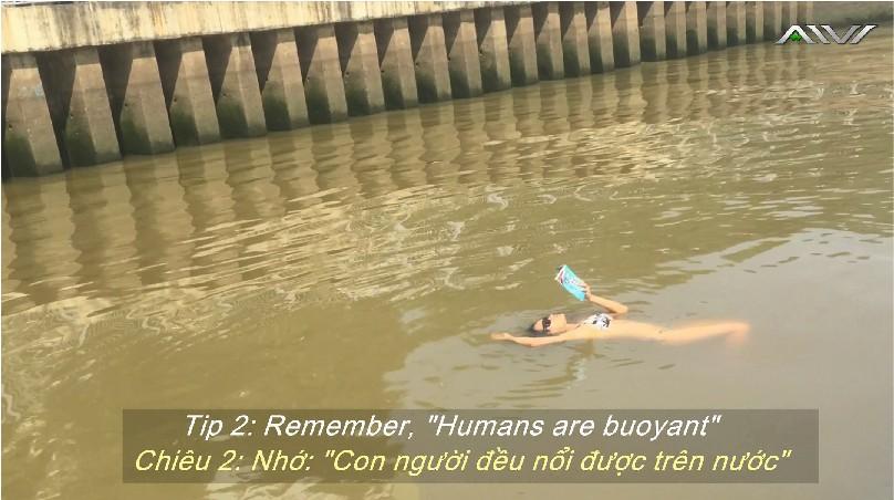 AIVI Sinh tồn - Phương pháp mới lạ giúp tự cứu sống mình trên nước - Ảnh 2.