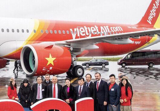 Chủ tịch Quốc hội Nguyễn Thị Kim Ngân cùng Vietjet nhận bàn giao máy bay thế hệ mới A321neo tại Toulouse, Pháp - Ảnh 2.