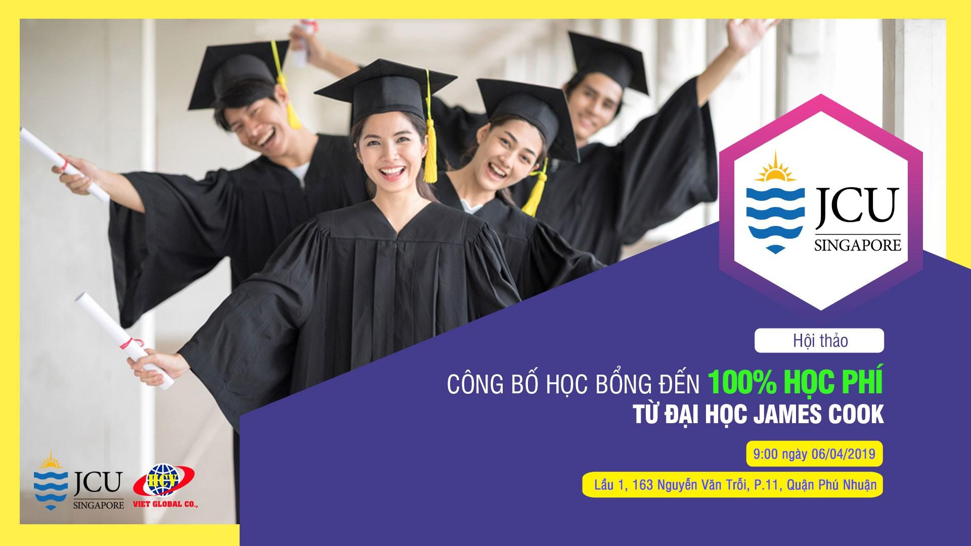 Hội thảo du học Singapore: Công bố học bổng 100% học phí từ Đại học James Cook - Ảnh 1.