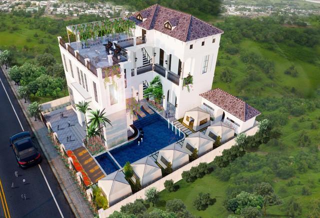 Xuất hiện biệt thự 11 phòng giá 7 tỷ, trên đồi ngắm hoàng hôn đẹp nhất Phan Thiết - Ảnh 3.