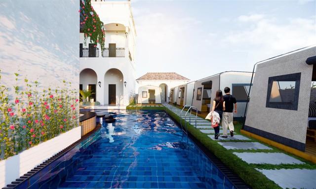 Xuất hiện biệt thự 11 phòng giá 7 tỷ, trên đồi ngắm hoàng hôn đẹp nhất Phan Thiết - Ảnh 4.