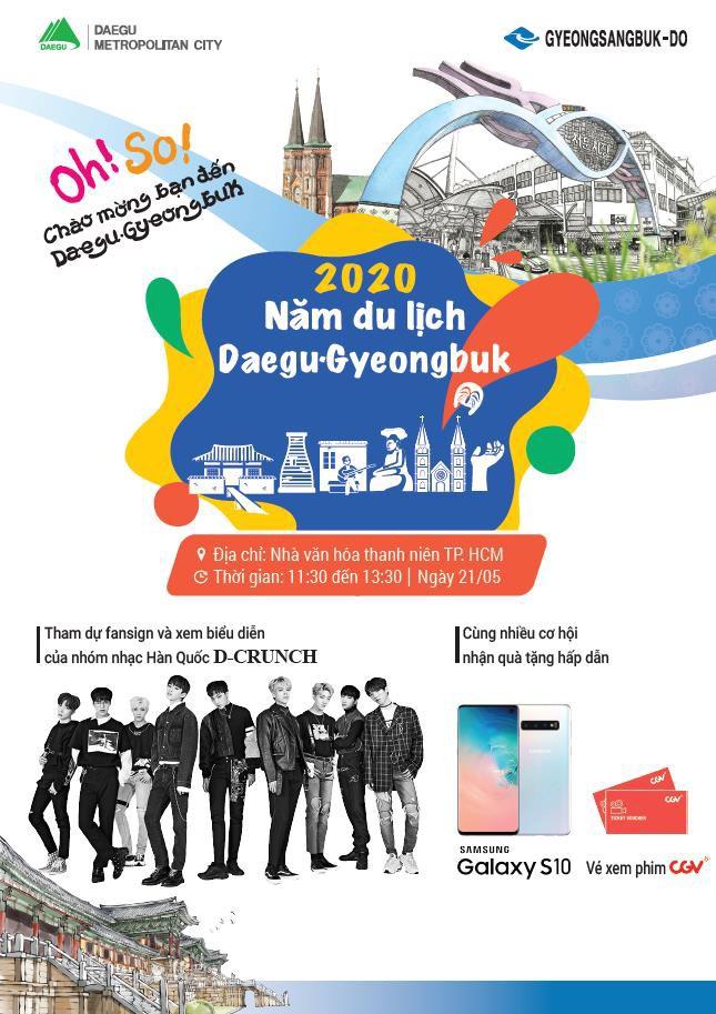 Tưng bừng đại tiệc Kpop Daegu-Gyeongbuk - Cơ hội nhận ngay Samsung S10 thời thượng - Ảnh 1.