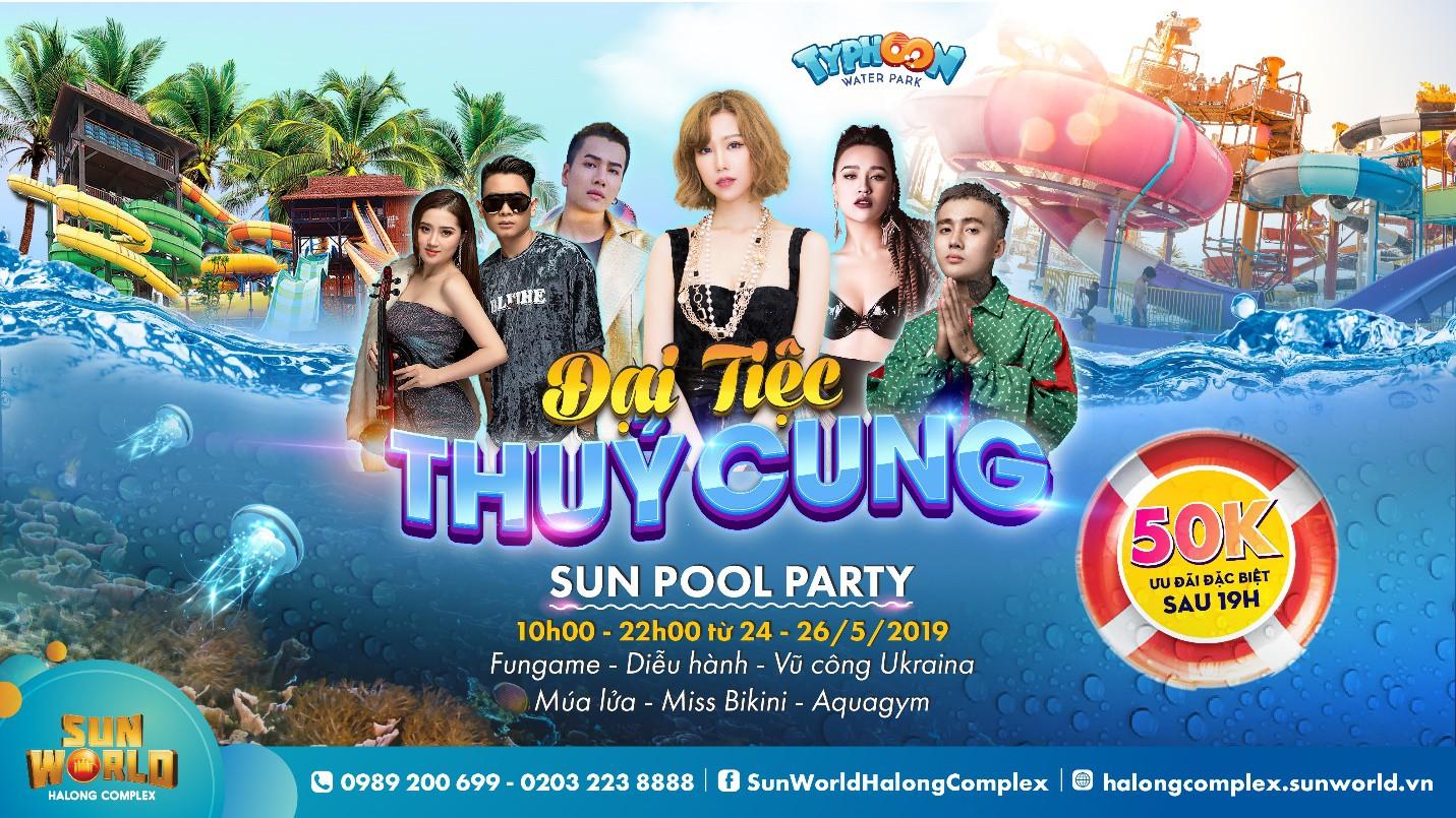 Giới trẻ phát sốt với Đại tiệc Thủy Cung sắp diễn ra tại thiên đường giải trí Sun World Halong Complex - Ảnh 1.