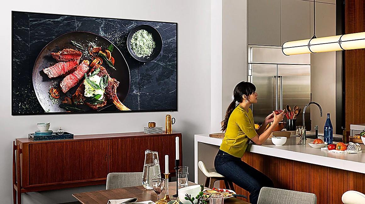 Top 4 TV Samsung màn hình lớn đáng mua - Ảnh 1.