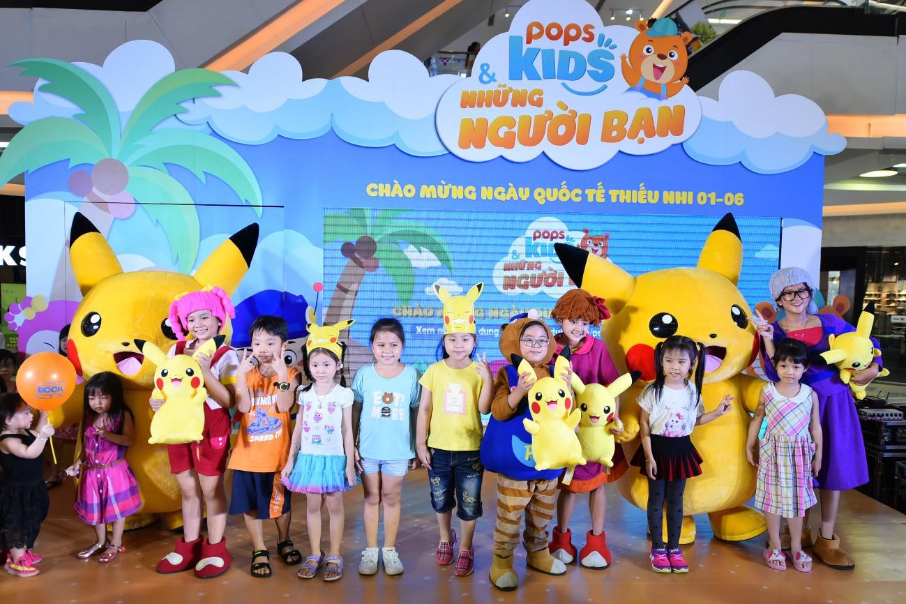 POPS Kids sẽ dẫn đội quân Pikachu đến thăm các bé vào quốc tế thiếu nhi - Ảnh 2.
