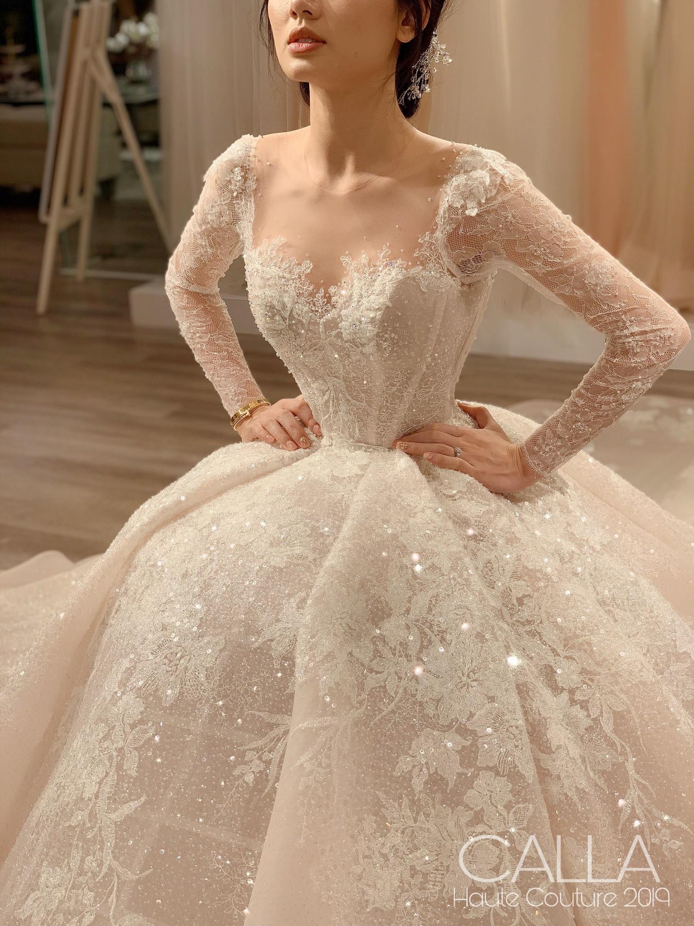 Calla Bridal ra mắt dòng sản phẩm cao cấp Calla Haute Couture 2019 - Ảnh 5.