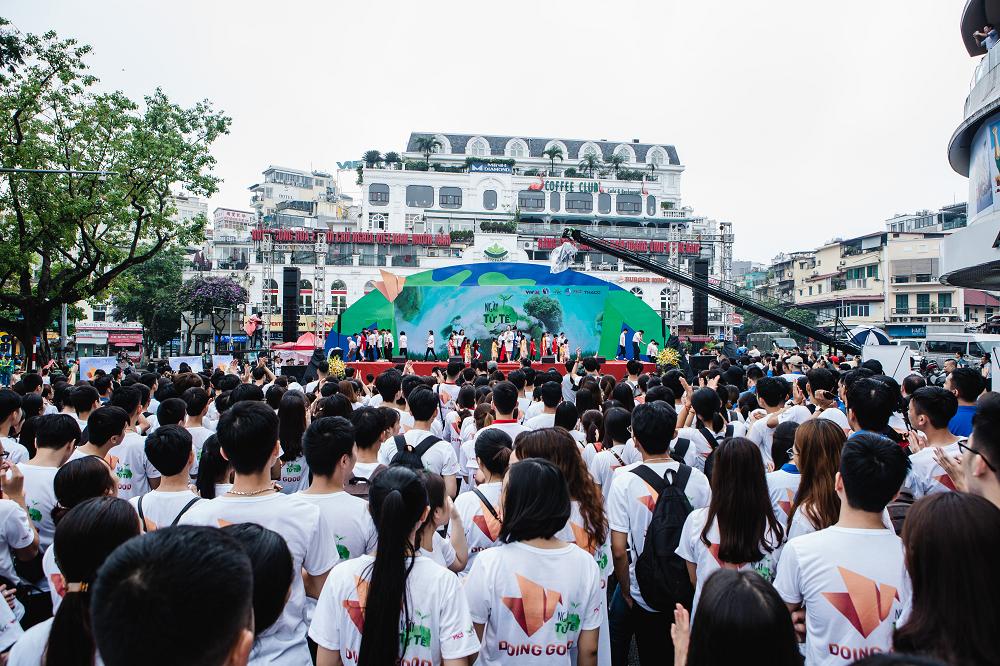 """Hàng nghìn người tham gia sự kiện """"Ngày tử tế"""", lan tỏa những hành động, tấm gương đẹp - Ảnh 8."""