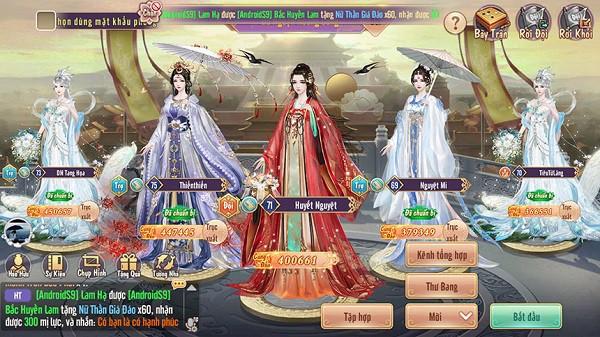 Thời trang đẹp không tì vết của 360mobi Cung Đình Kế