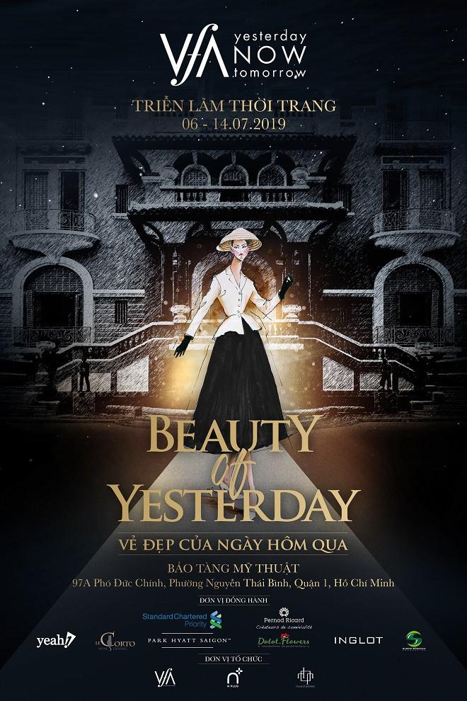 """Diễm My 9x làm nàng thơ của triển lãm thời trang """"Beauty of Yesterday – Vẻ đẹp của ngày hôm qua"""" - Ảnh 5."""