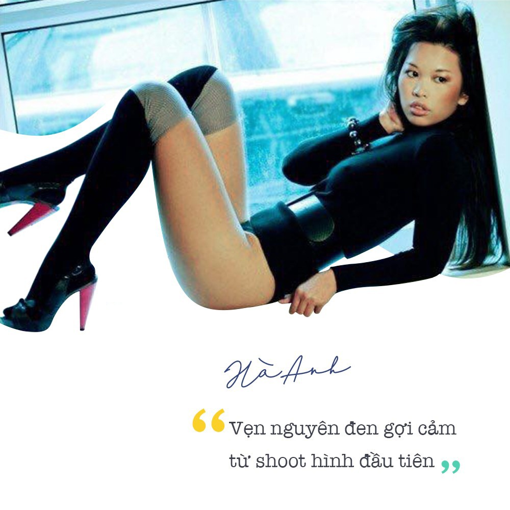 """Siêu mẫu Hà Anh: """"Mong tình yêu luôn bí ẩn như chiếc áo đen 2 ta mặc lúc mới quen…"""" - Ảnh 2."""