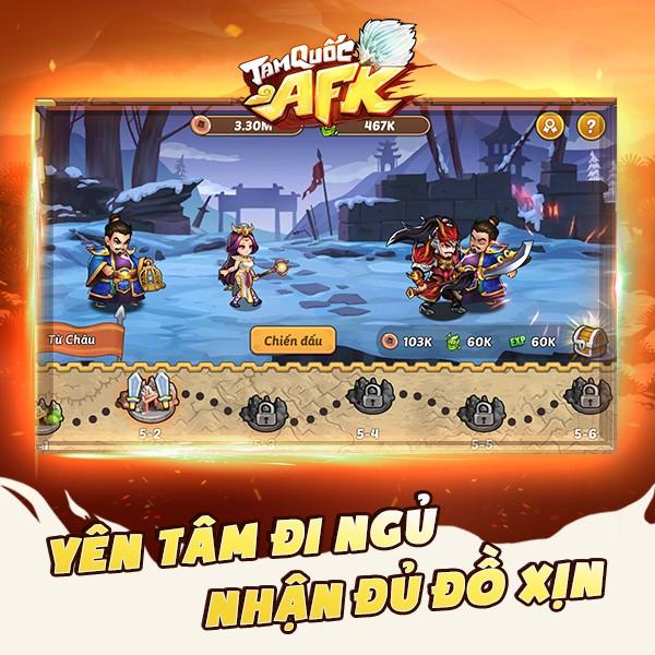 Tam Quốc AFK - Game đấu tướng dành cho người bận rộn chính thức ra mắt tại Việt Nam - Ảnh 2.