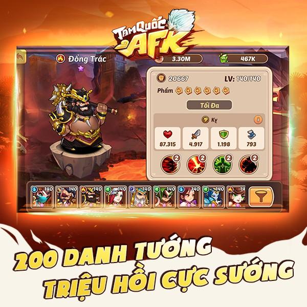 Tam Quốc AFK - Game đấu tướng dành cho người bận rộn chính thức ra mắt tại Việt Nam - Ảnh 3.