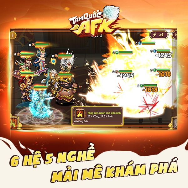 Tam Quốc AFK - Game đấu tướng dành cho người bận rộn chính thức ra mắt tại Việt Nam - Ảnh 4.