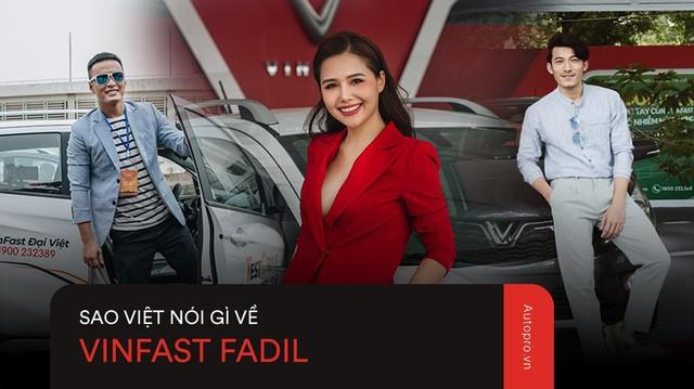 VinFast Fadil đốn tim sao Việt ở những điểm này ngay trong lần trải nghiệm đầu tiên - Ảnh 1.