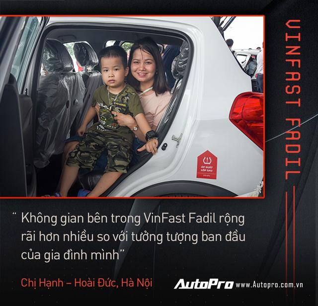 Khách Việt hết lời khen VinFast Fadil trong ngày nhận xe quy mô kỷ lục Việt Nam - Ảnh 11.