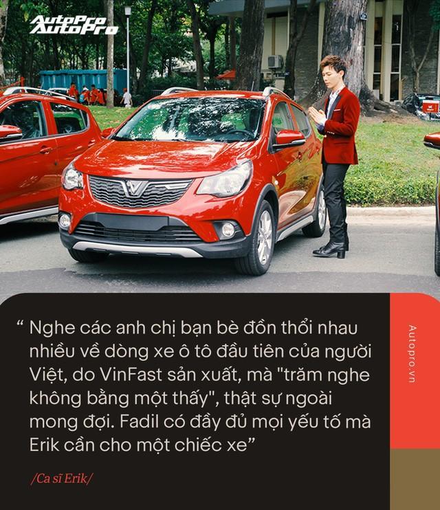 VinFast Fadil đốn tim sao Việt ở những điểm này ngay trong lần trải nghiệm đầu tiên - Ảnh 6.