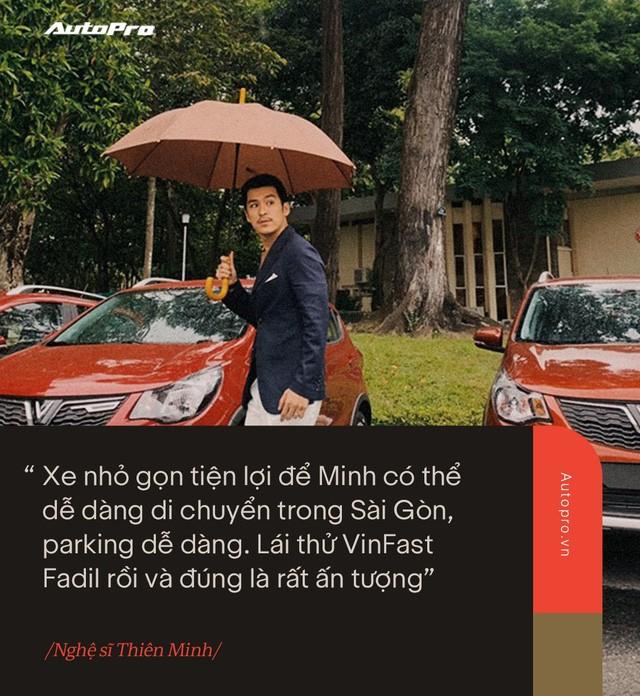 VinFast Fadil đốn tim sao Việt ở những điểm này ngay trong lần trải nghiệm đầu tiên - Ảnh 8.