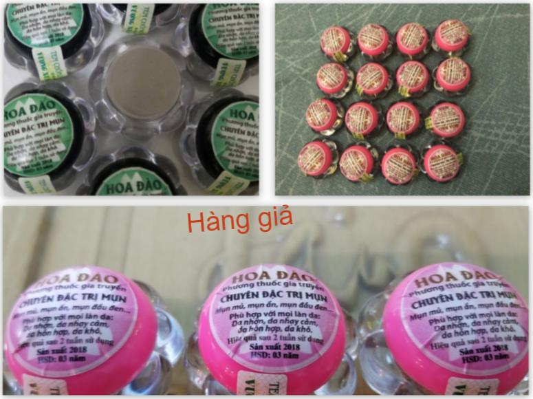 Tràn lan sản phẩm giả nhãn hiệu mỹ phẩm Hoa Đào - Ảnh 5.