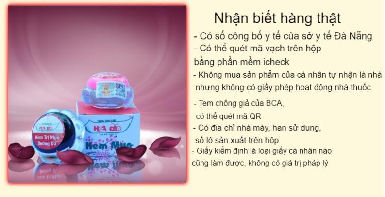 Tràn lan sản phẩm giả nhãn hiệu mỹ phẩm Hoa Đào - Ảnh 1.