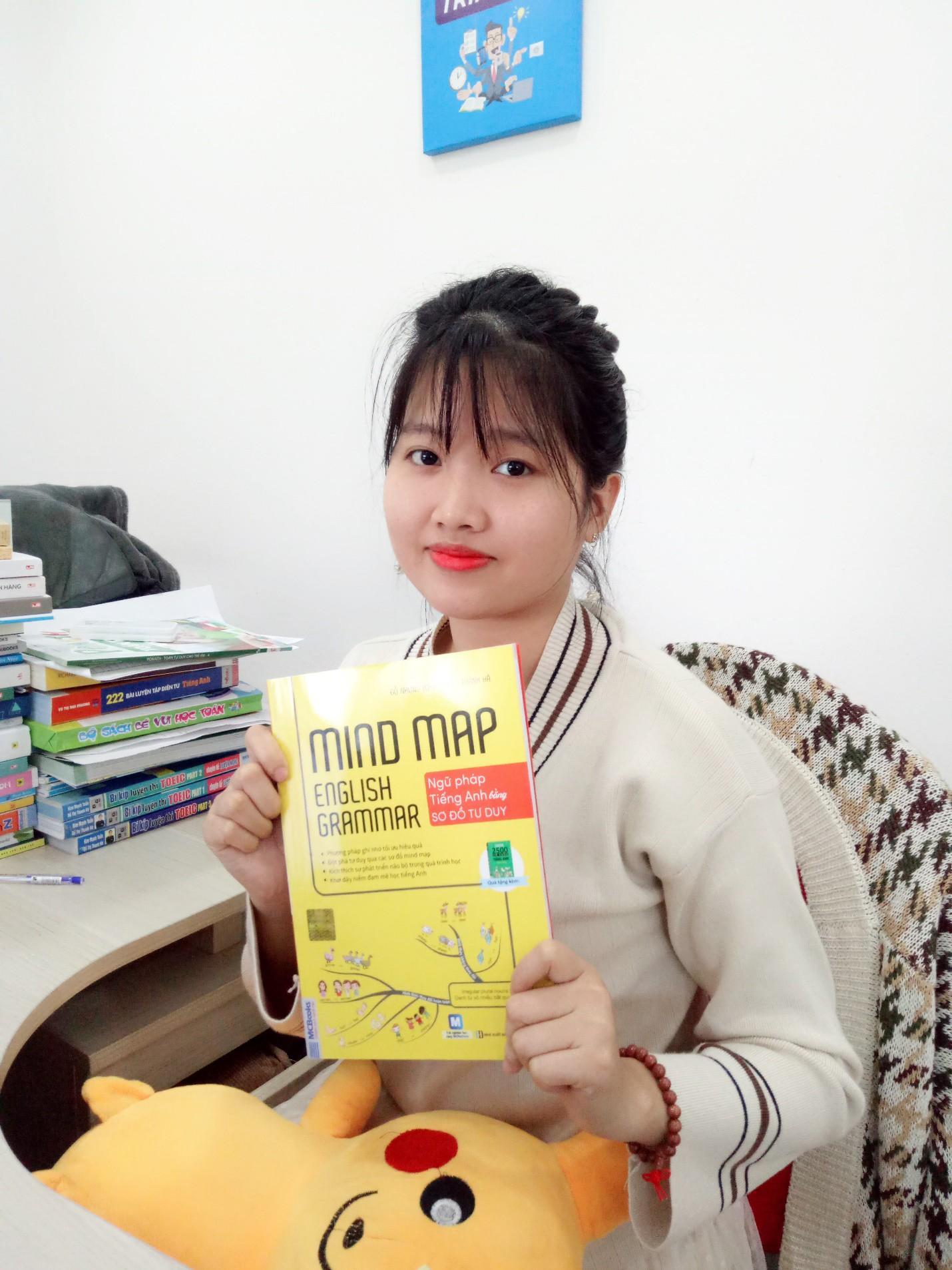 Review cuốn sách Mind map English Grammar - Ngữ pháp tiếng Anh bằng sơ đồ tư duy - Ảnh 1.