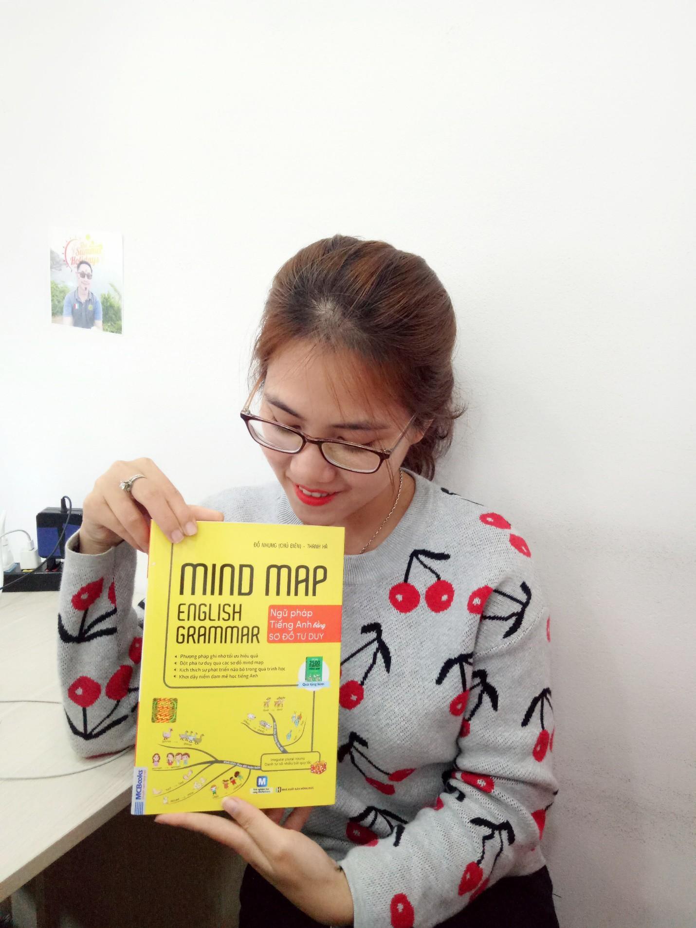 Review cuốn sách Mind map English Grammar - Ngữ pháp tiếng Anh bằng sơ đồ tư duy - Ảnh 2.