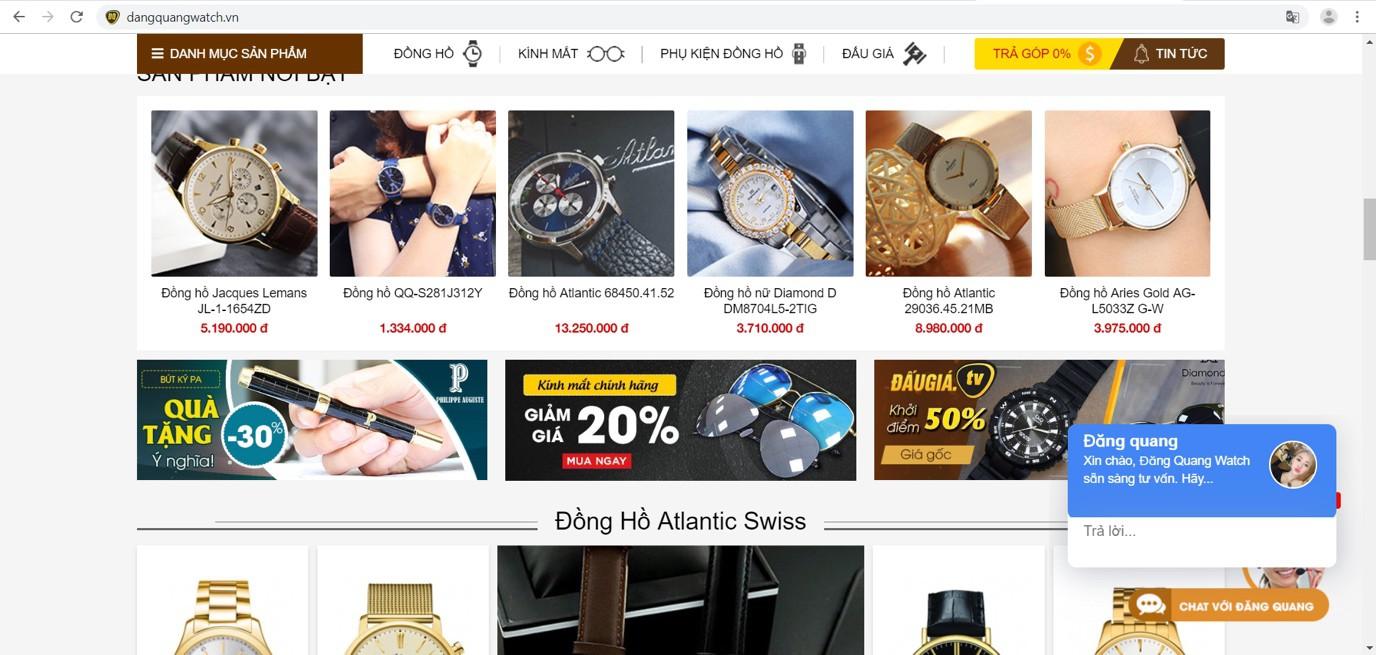 Ưu đãi giảm giá lên đến 25% tuần lễ trải nghiệm mua sắm đỉnh cao với đồng hồ, kính mắt Đăng Quang - Ảnh 1.