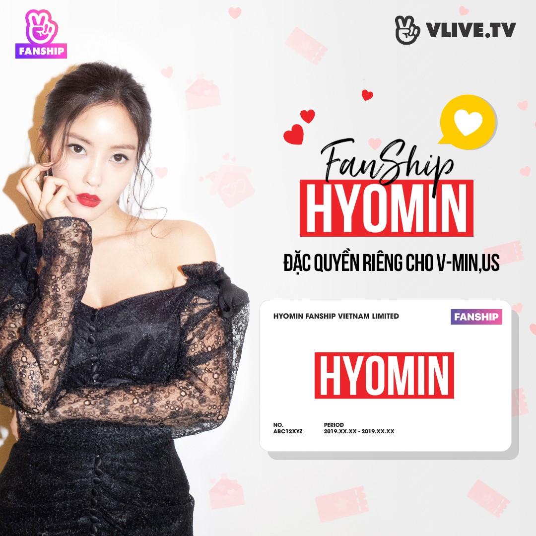 Hyomin công bố Fanship, tặng quà đặc biệt cho fan Việt - Ảnh 1.