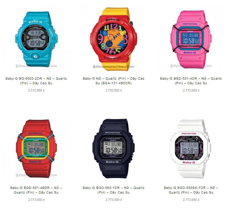 Nên mua đồng hồ G-Shock nữ hay Baby-G chính hãng? - Ảnh 4.