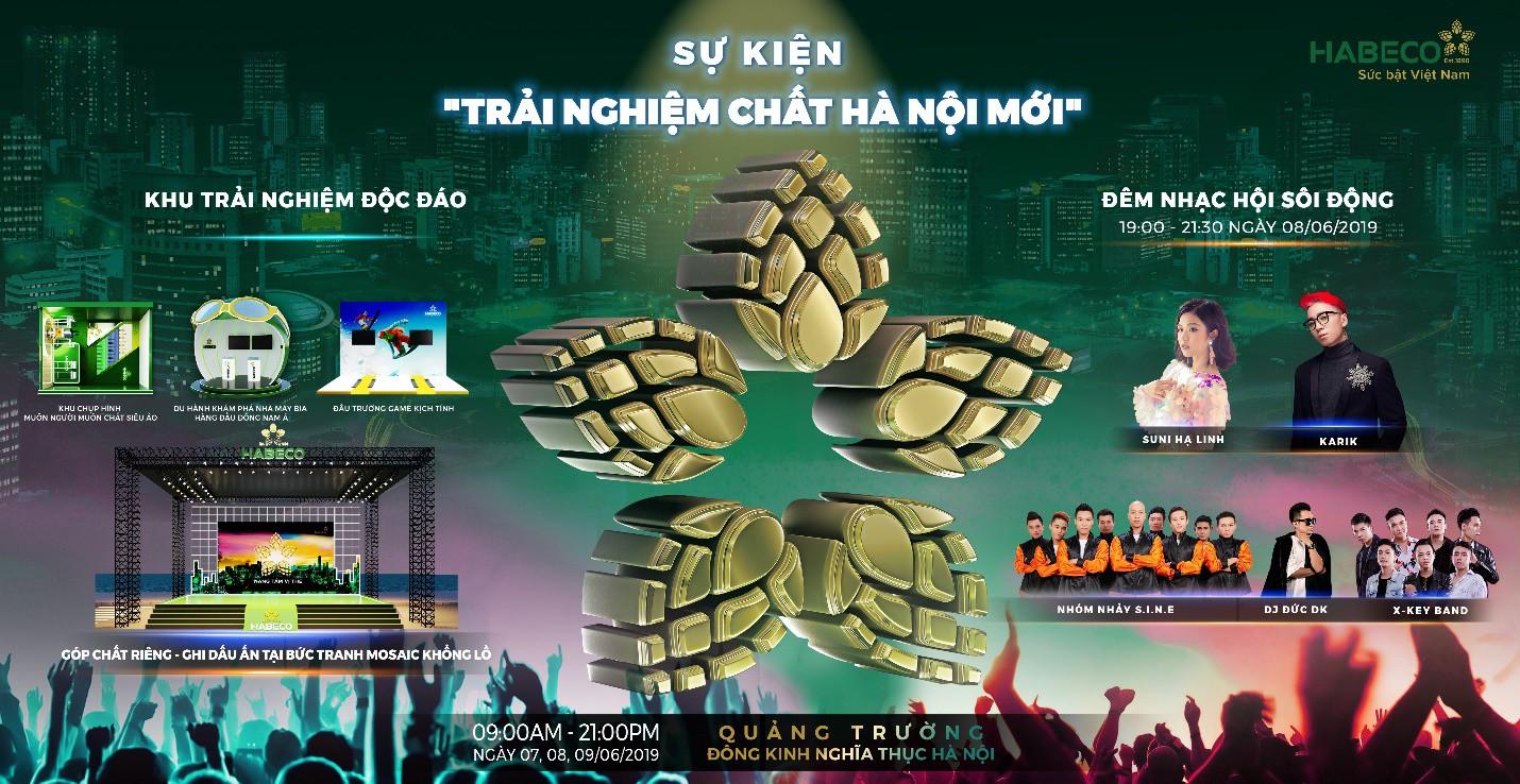 Suni Hạ Linh, Karik sẽ cùng xuất hiện tại phố đi bộ Hà Nội trong sự kiện cực hot cuối tuần này! - Ảnh 1.