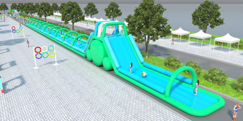 Từ đường trượt siêu cấp tới bể bọt khổng lồ – hứa hẹn một lễ hội sôi động dành cho giới trẻ Hà Nội hè này - Ảnh 2.